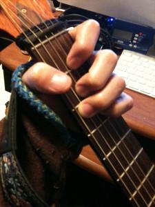 ギターとわたし(C7)