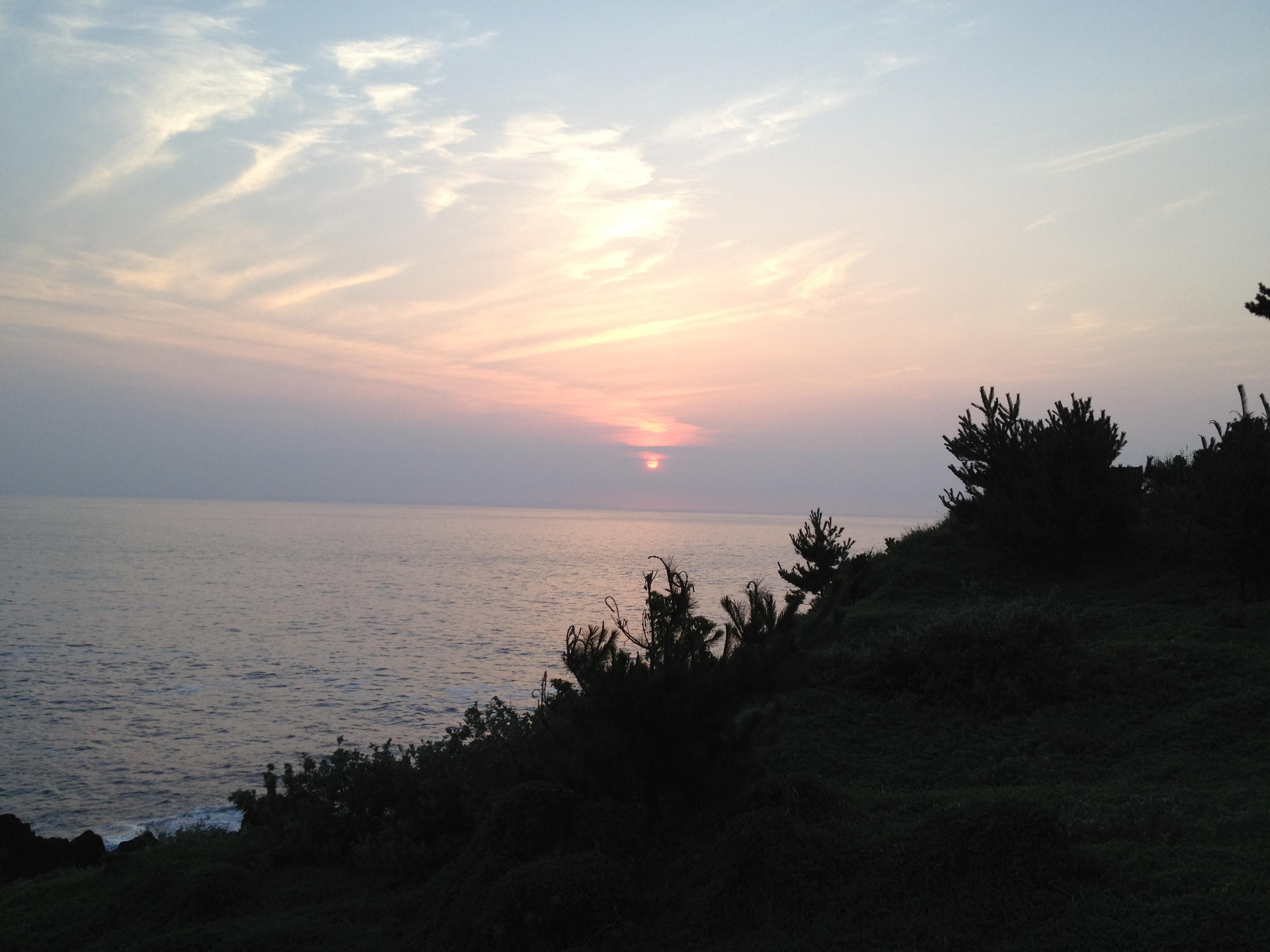 伊豆大島の日の出