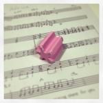 楽譜書き(音を選んでパート譜作成)に大活躍の、細かいとこが消せる消しゴム。
