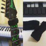 ギター用のダンパーというかミュートを作成