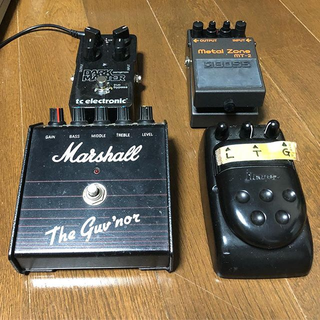歪ませ放題 #distortion #pedalboard #pedas